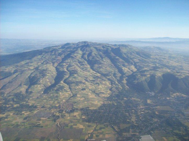 Approaching Addis Ababa