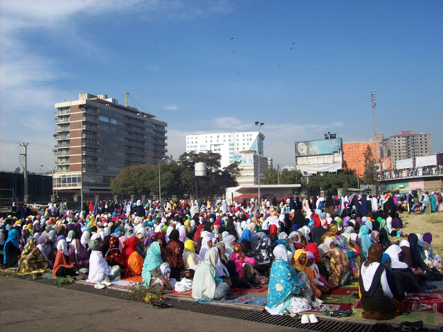 Eid Al Adha Prayer in Addis Ababa