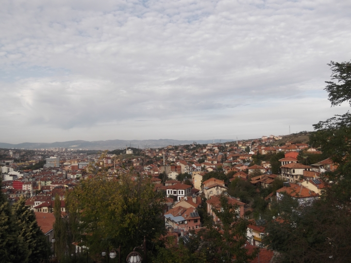 From the summit of Kastamonu's Clock Tower, a beautiful panoramic view.