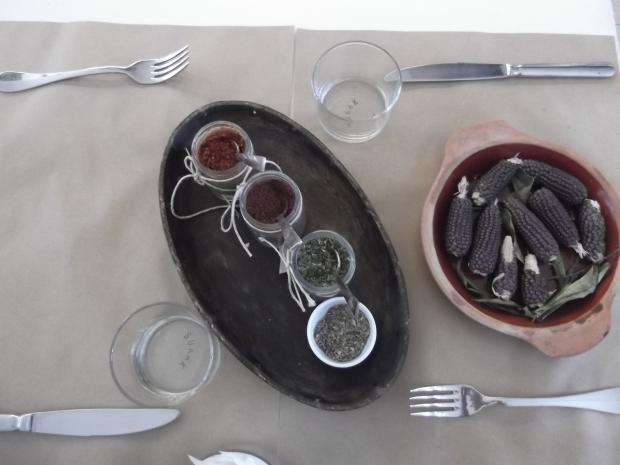Table Setting at Sokak in Bilkent