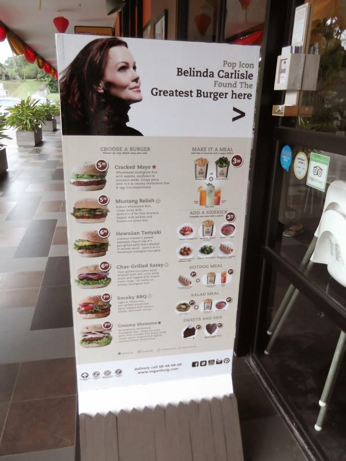 Delicious vegan burger options in Singapore