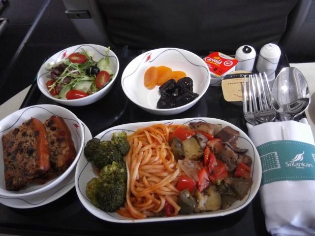 Vegan Flight Meal